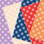 Trendy Colors Scrapbooking Paper , ..